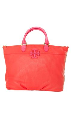 Tory Burch Spring/summer 2013 Stacked T Satchel