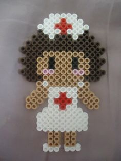 Nurse perler beads by *PerlerHime on deviantART