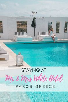 Looking for some romantic hotel in Paros, perfect for couples? Check our review of Mr & Mrs White Hotel, in Paros, Greece.