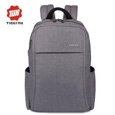 8bab4f9058bb 2017 Tigernu Anti-theft USB charging Men 15.6inch Laptop Backpack Women  Backpack Mochila School Backpack Bag Casual Laptop Bag