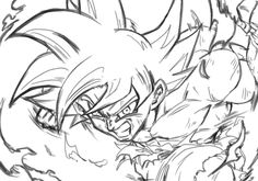 Dragon Ball Z, Vegito Y Gogeta, Manga Dragon, Ball Drawing, Dragon Images, Sketch Inspiration, Anime Sketch, Character Drawing, Fan Art