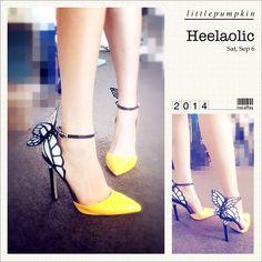 Sophia Webster S/S 14 Butterfly pointy heel