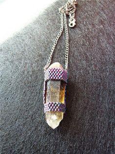 МисМис. Lovely quarz pendant.