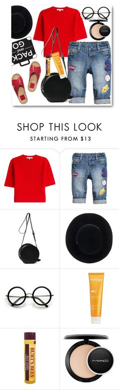 """Pack and Go: Labor Day!"" by eileenelizabeth ❤ liked on Polyvore featuring Carven, Eugenia Kim, ZeroUV, Phytomer, MAC Cosmetics, polyvorecommunity, polyvoreeditorial, polyvorecontest and Packandgo"