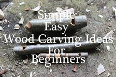 19 Easy-To-Do Patterns and Designs for wood carving beginners. Includes what tools to buy, sharpening stone, and safety.