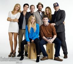 "Comic-Con 2012 portrait of the cast of ""Falling Skies""."