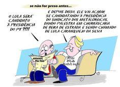 Lula é candidato à presidência !