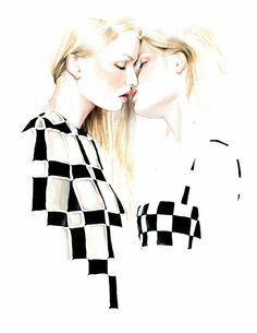 Awesome Fashion Illustrations by António Soares