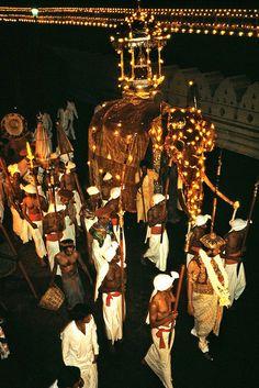 Esala Perahera , Sri Lanka - a festival surrounding the sacred tooth of Buddha!