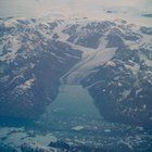 Submitted by  on Reddit. Greenland at sunrise from 37000 ft (11.2)kM [OC] [2592x3839]