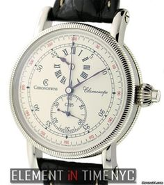 Chronoswiss ChronoscopeOne Button Chronograph Reference #: CH 1523