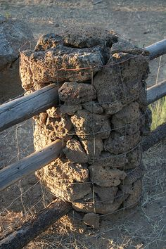 fence without digging holes | DIY Fence Post With No Digging | eHow