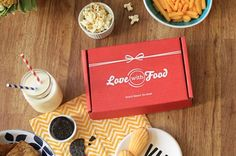 Love the treats from my Love With Food boxes! Sign up for your first box free.