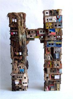 Slum Quarters, Eric Cremer, more art: www.kirstenlovesart.com