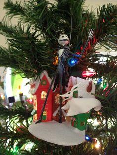 Jack Skellington and Zero. My fav TNBC ornament.