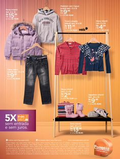 Lojas Pompéia, moda para os peques