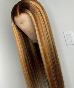 Ulovewigs Human Virgin Hair Pre Plucked Lace Front Wig  Free Shipping (ULW0189)