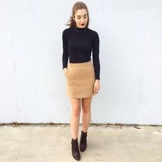 Image result for witchery navy skirt