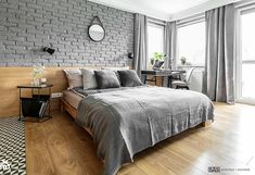 Grey bedroom: Design in different styles - Home Design Ideas Grey Bedroom Design, Gray Bedroom, Scandinavian Style Bedroom, Different House Styles, Home Theater Design, Stylish Bedroom, Design Case, Contemporary Bedroom, Interior Design Inspiration