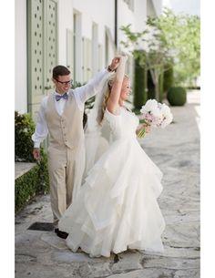 Flowy Wedding Dress, Wedding Gown