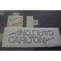 "CARLTON ""Clubman"" decal set. NOS"