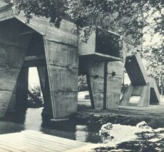The Unité d'habitation by Le Corbusier in Nantes.
