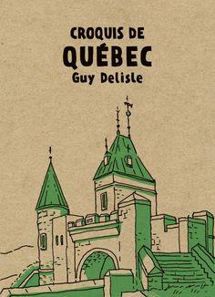 Croquis de Québec je ne peut pas l'attendre.
