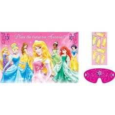 "Disney Princess Birthday Iron On Transfer 5/""x6.75/"" for LIGHT Colored Fabrics"