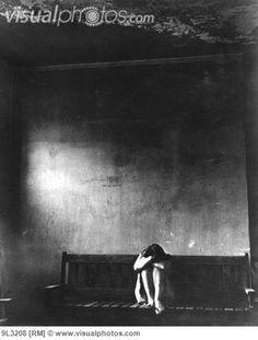 Woman in the Ohio Insane Asylum.