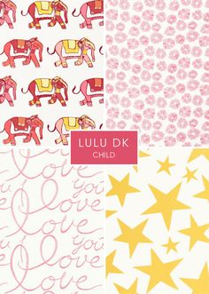 LuLu DK Child textiles for Schumacher