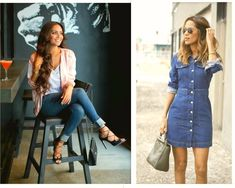 Stylish Denims – wanaabeehere Shirt Dress, Elegant, Denim, Stylish, Shirts, Dresses, Fashion, Classy, Shirtdress