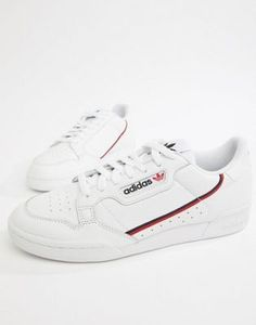 huge selection of d4407 07870 adidas Originals Continental 80s Sneakers In White B41674 Addidas Sneakers,  Girls Sneakers, Shoes Sneakers
