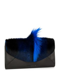 Bold envelope clutch - Blue | Bags | Ted Baker ROW$298