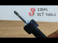 3 Ideas About Making Tools || Homemade DIY Tools