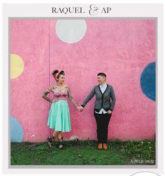 Raquel & AP  Photography by Aurelie Davis