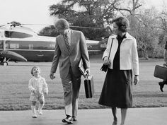 Jimmy and Rosalynn Carter with their grandson Jason