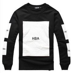 Hood By Air Sweatshirts Black
