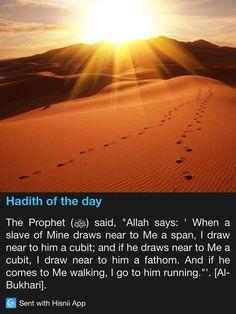 Hadith of the day Prophet Muhammad Quotes, Hadith Quotes, Muslim Quotes, Quran Quotes, Islam Beliefs, Islam Hadith, Islamic Teachings, Islam Religion, Islamic Phrases