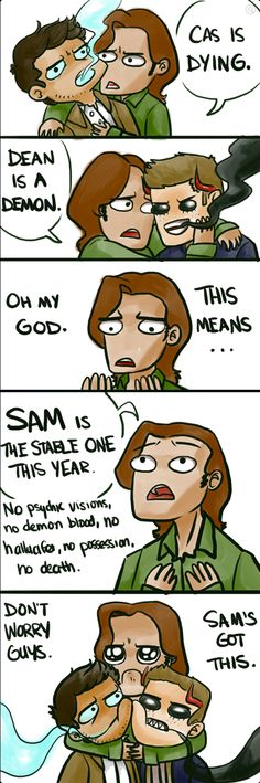Sam is the stable one this season