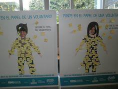 Ponte en el lugar de un voluntario o voluntaria. Únete a nuestro equipo http://www.ongawa.org/ofertas-de-voluntariado/