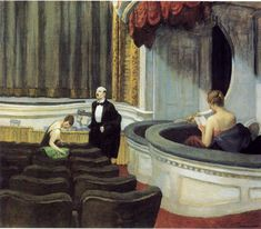 Two on the Aisle by Edward Hopper, 1927
