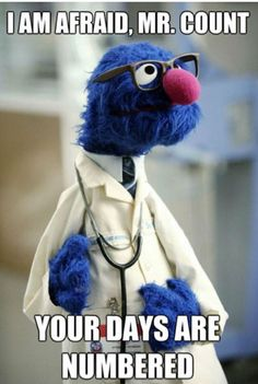 Dr. Grover is in.