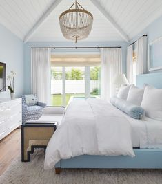 10 Favorite Bedrooms for Sweet Dreams Interior Exterior, Home Interior, Coastal Interior, White House Interior, Beach Interior Design, Beach Design, Interior Modern, Interior Paint, Coastal Decor