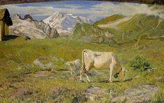 Pascoli di primavera [1896] Giovanni Segantini