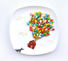 31 giorni di creatività col cibo by RED - #up