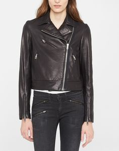 rag & bone leather jacket.