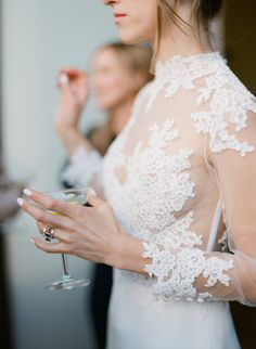lace wedding dress, lace bridal gown, delicate lace wedding dress, #bridalgown, Loho bride, Los Angeles www.lohobride.com