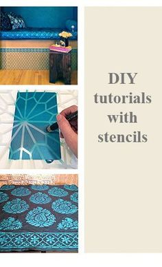 Stencil and Paint Tutorials