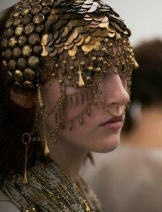Mask for a Haradrim warrior - A.F. Vandevorst