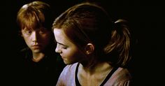 I love the way Ron looks at Hermione.